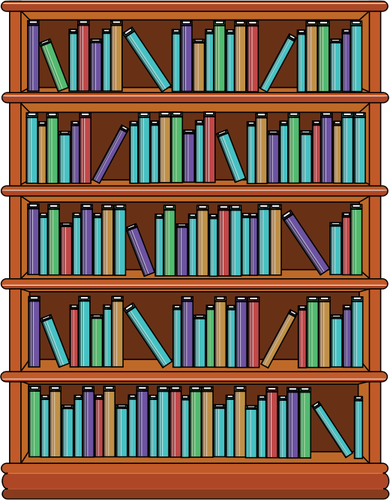 Bookshelves-with-books
